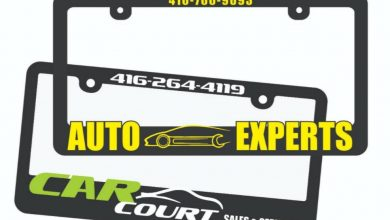 Photo of Raise Your Licence Plate Frame Of Your Car