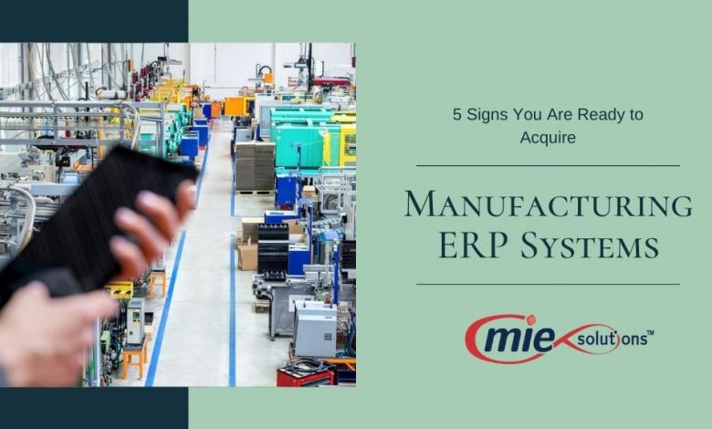 Manufacturing ERP Systems