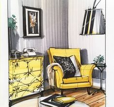 Photo of Interior Design drawing shouldn't be hard read those tips